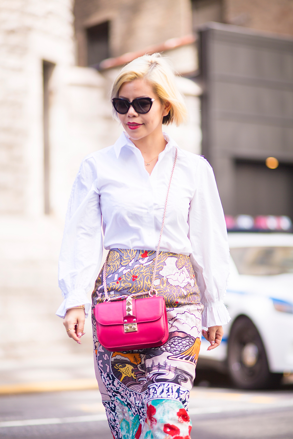 New York Fashion Week 2015- Street Style- Fashion blogger Crystal Phuong
