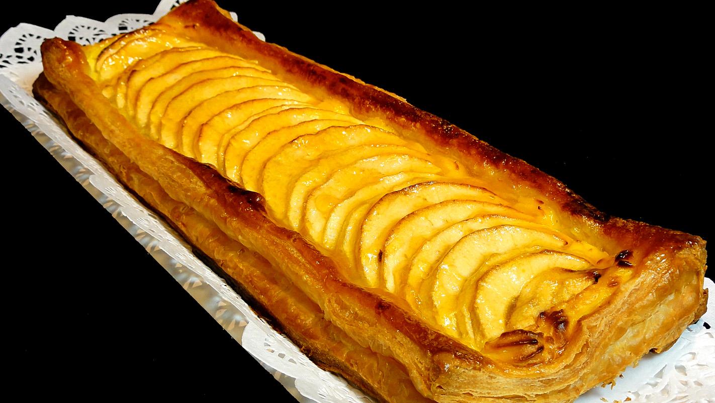 Cocinar para los amigos hojaldre de manzana receta de for Cocinar para los amigos