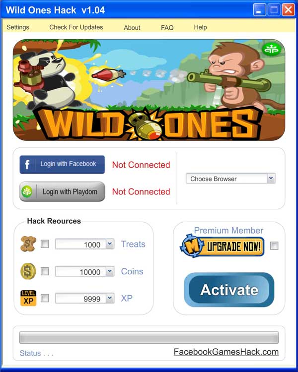 T Search Wild Ones Hack