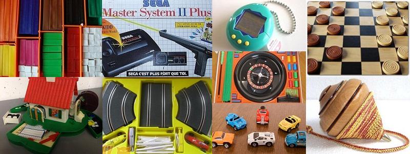 I giochi/giocattoli con cui sono cresciuto