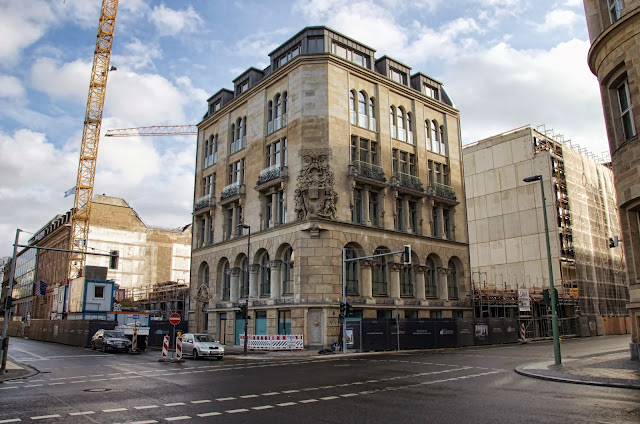 Baustelle Palais Behrens, Palais Theising, Behrenstraße / Glinkastraße, 10117 Berlin, 22.12.2013