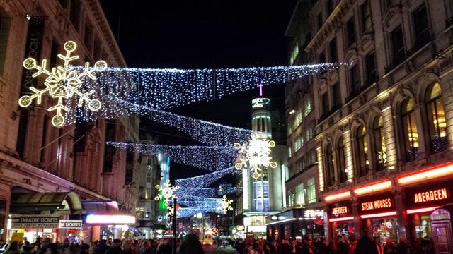 London Christmas decoration