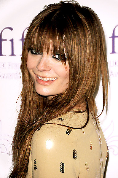 Long Choppy Hairstyles with Bangs