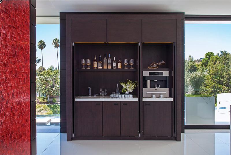 Modern Home Wet Bar