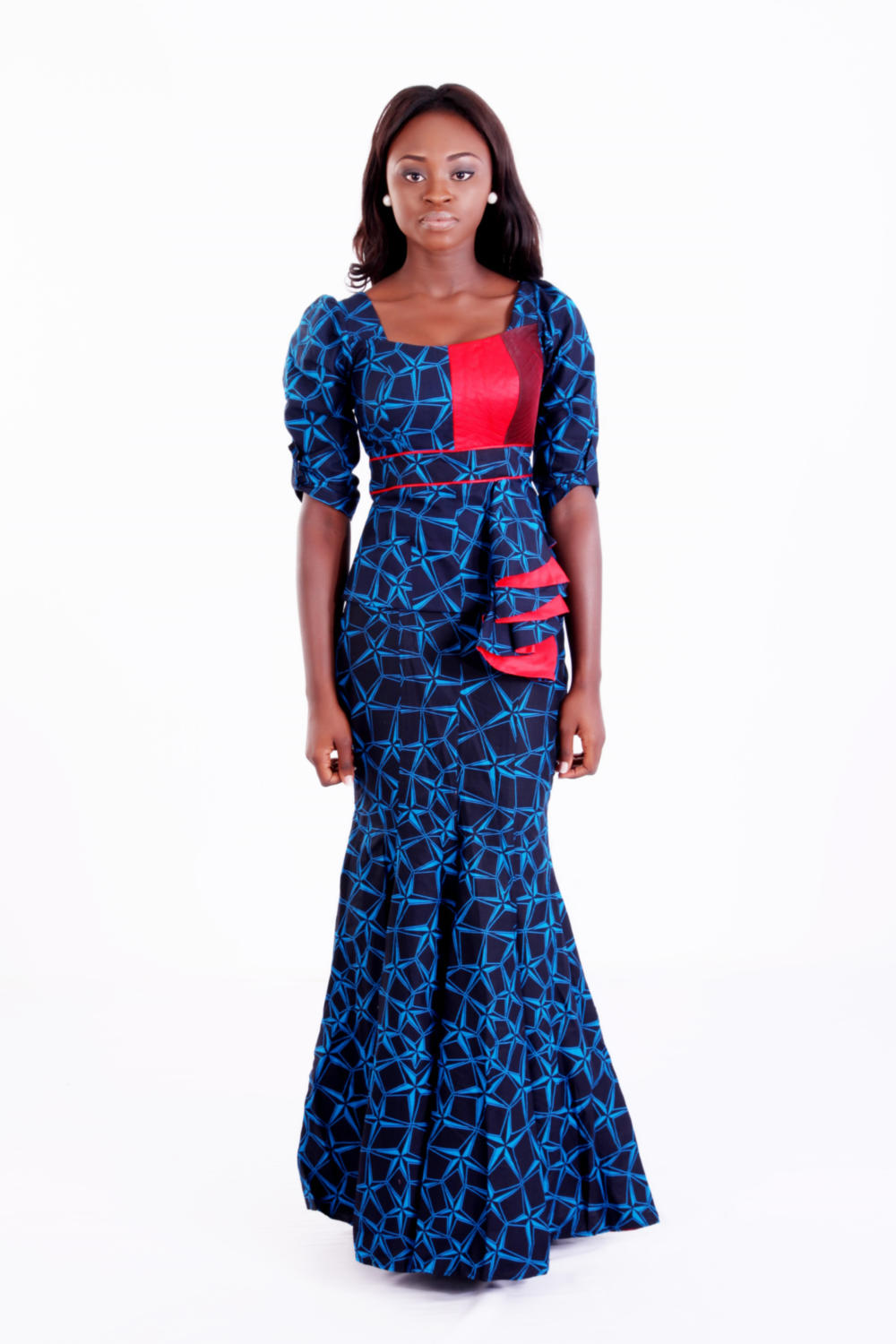 Ankara Blouse And Skirt 93