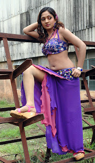 Sheela Hot Navel Show