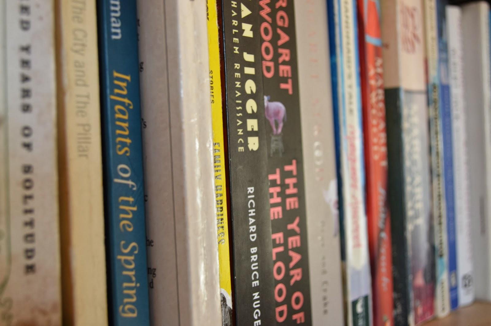 pretty, bookshelf, book & a cuppa, photography, photo, book spines, reading, bookcase, literature, colourful