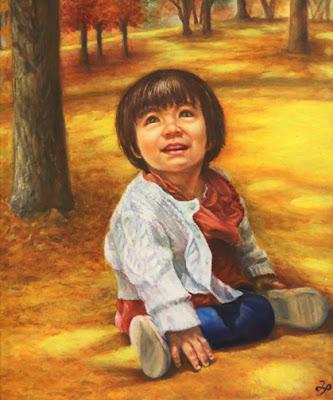 人物画 油彩