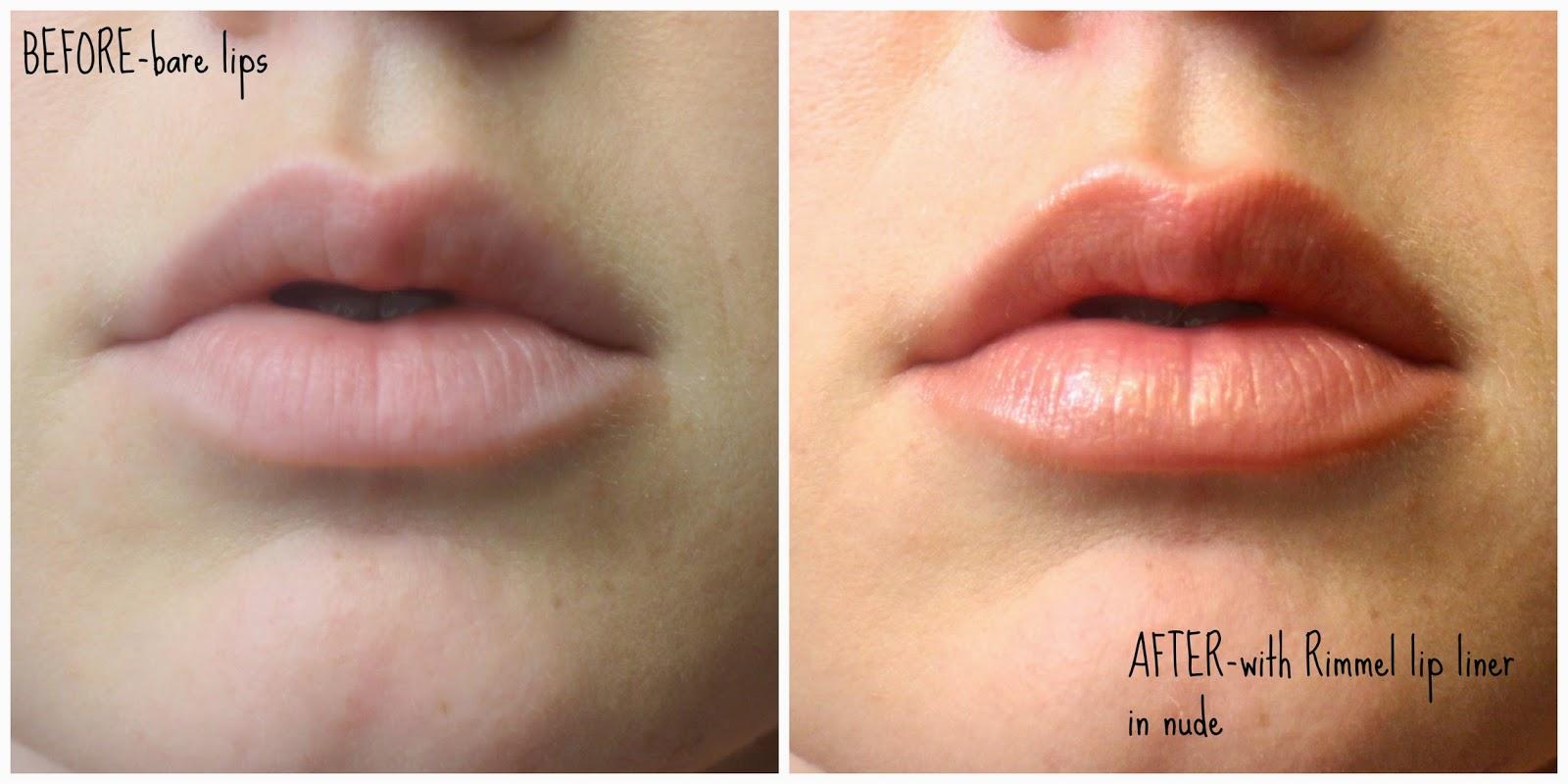 rimmel lip liner