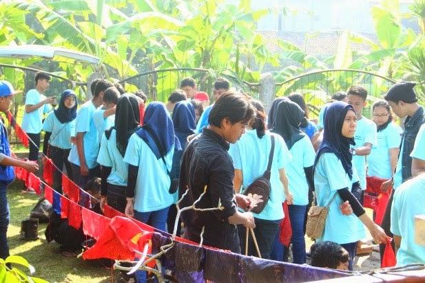 Pelatihan Batik Study Tour sekolah