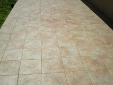 Outdoor Tile Regrout, Cleaning, and Grout Sealing