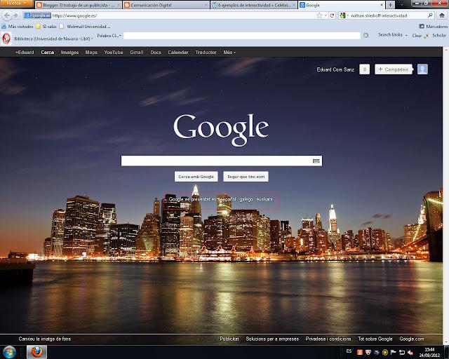 w www google es: