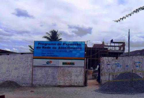Futura agência de atendimento do INSS no município já está em construção