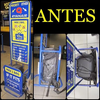 Cambio en el equipaje de cabina de ryanair mochileo low cost blog de diarios de viaje - Cabina ryanair ...