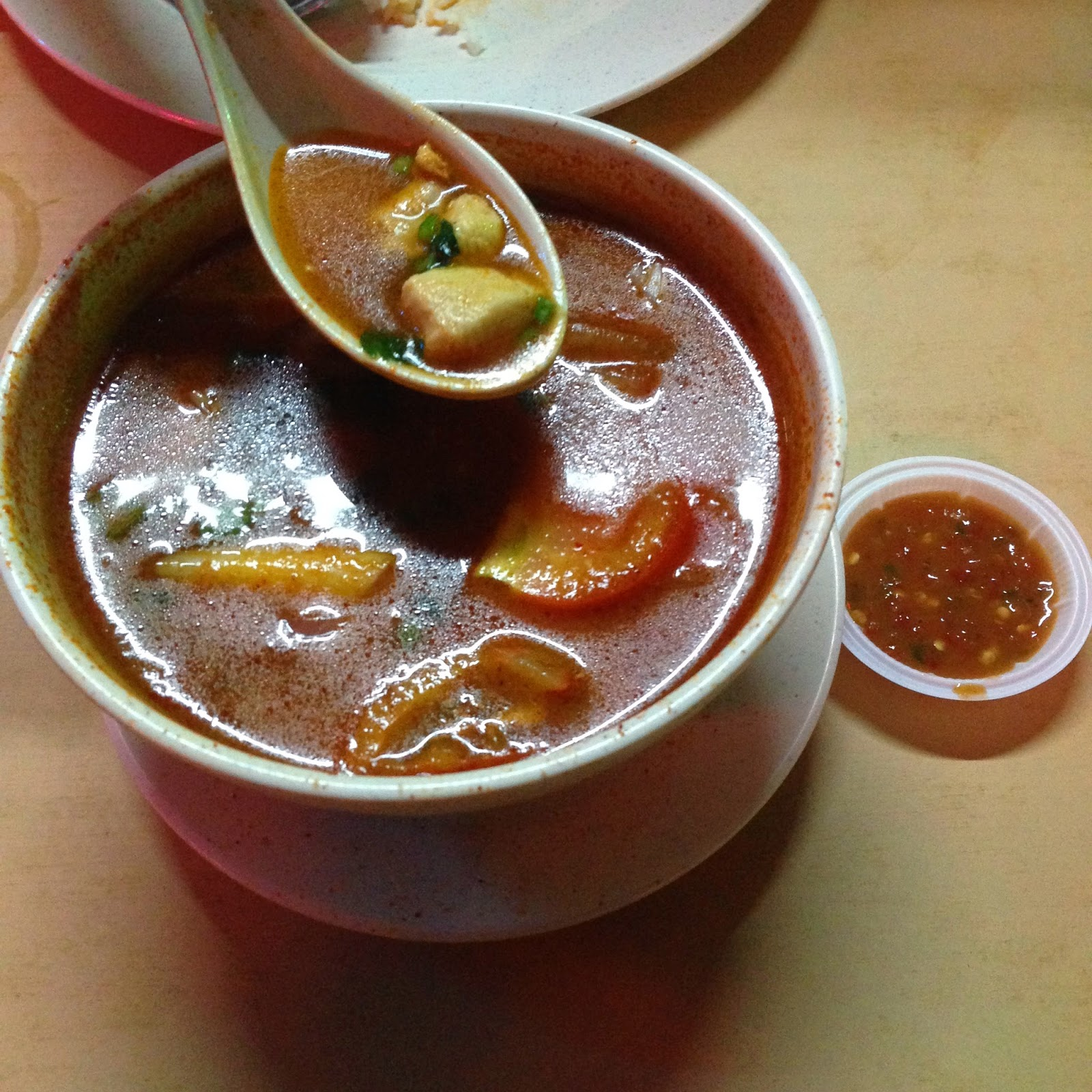 Serai Cafe chicken tom yam