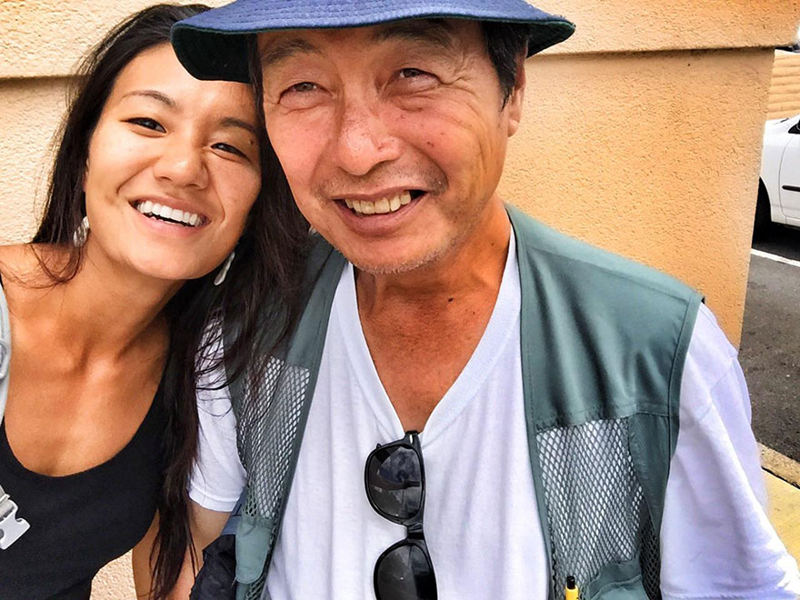 """Life itself is a gift. I am so grateful to see him alive and doing better. I appreciate what we have right here, right now"" -  After 10 Years Of Photographing Homeless People, Photographer Discovers Her Own Father Among Them"
