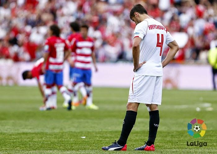 Crónica Granada CF 1 Vs Sevilla FC 1