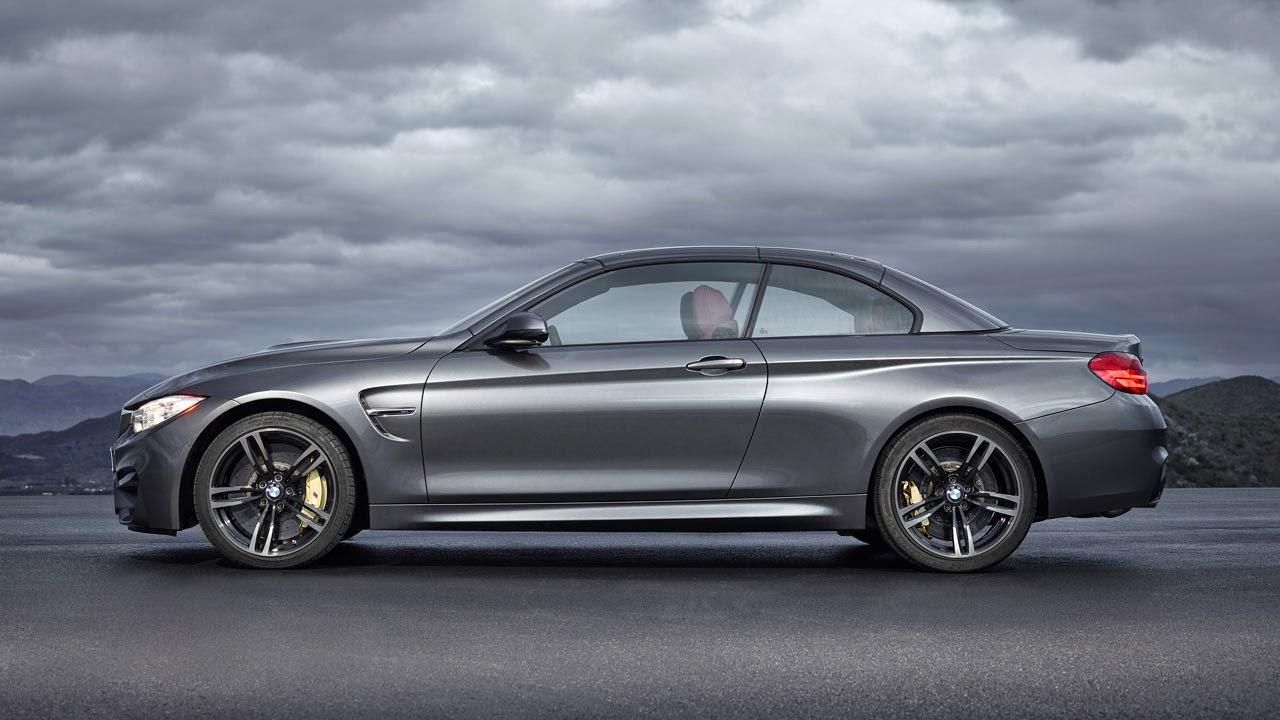 BMW M4 Convertible side top