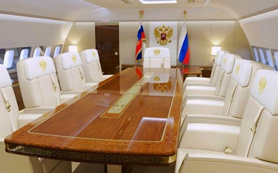 Russian President's New Luxury Jet Sparks Outrage 373
