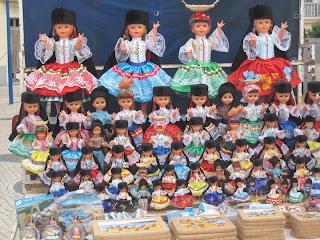 As célebres Bonecas da Nazaré