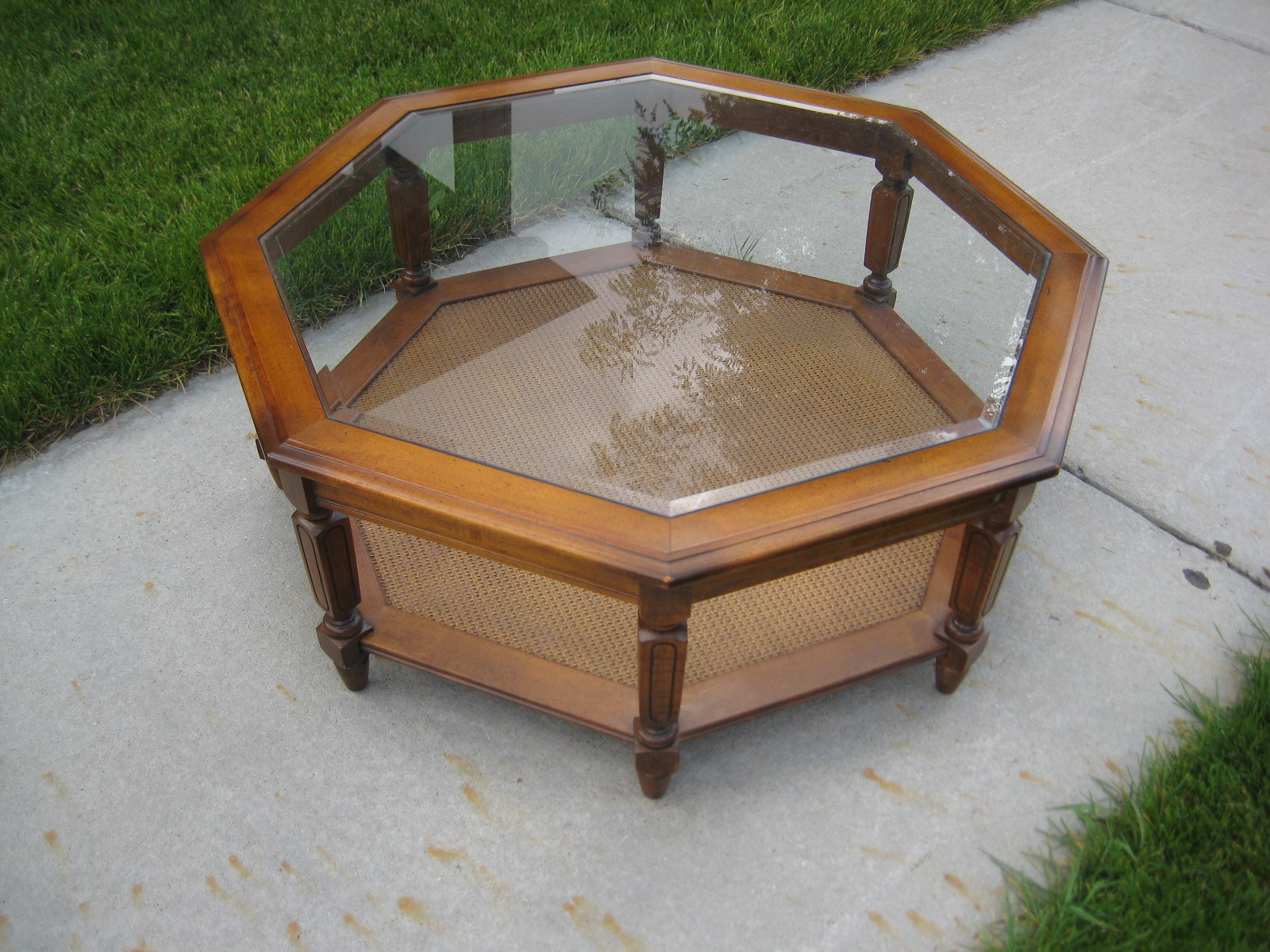 Thornton moving sale octagon coffee table 50 obo for Octagon coffee table