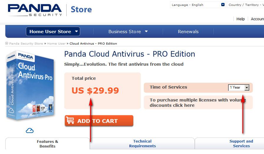 Panda cloud antivirus pro free.