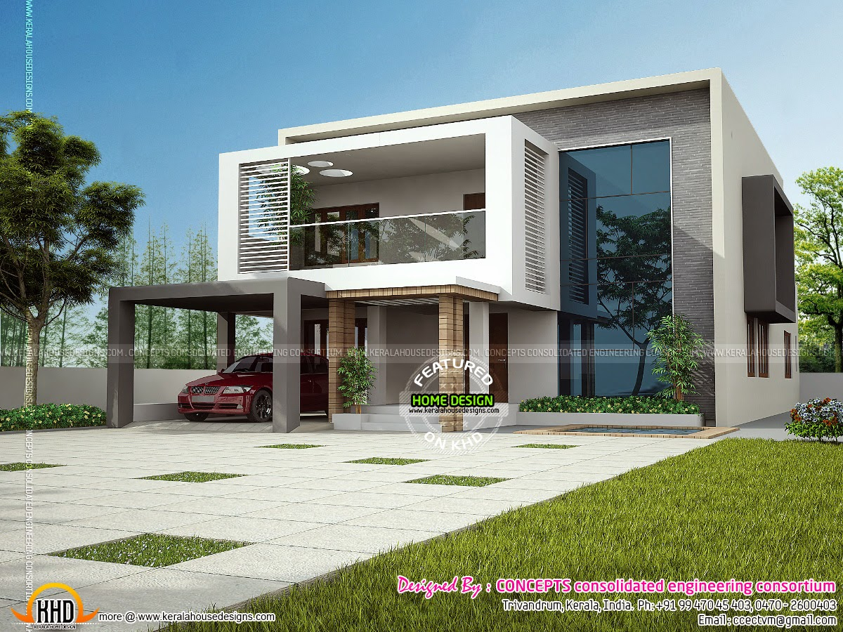 Modern Indian Home Design Keralahousedesigns