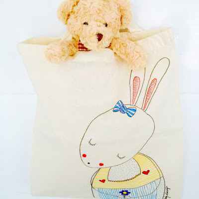 Tote Bag by Designer Lady Lucas | Little Owl Lane Collection