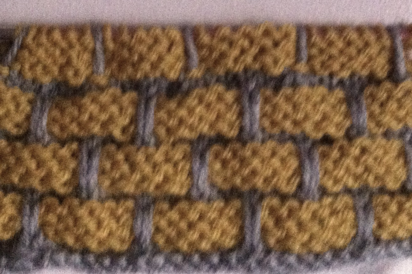Crocheting Easier Than Knitting : ... better because it achieves the look of bricks better however it takes