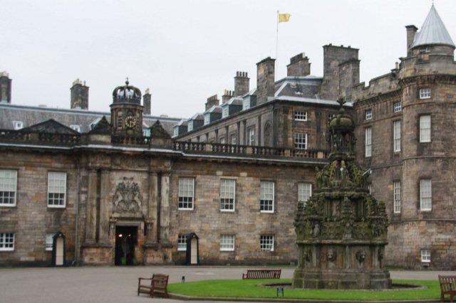 Palacio de Holyrood en Edimburgo Holyrood Palace in Edinburgh