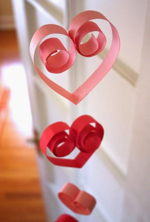 Manualidades Para San Valentin Bonitos Corazones Para Decorar Un - Decoracion-san-valentin-manualidades