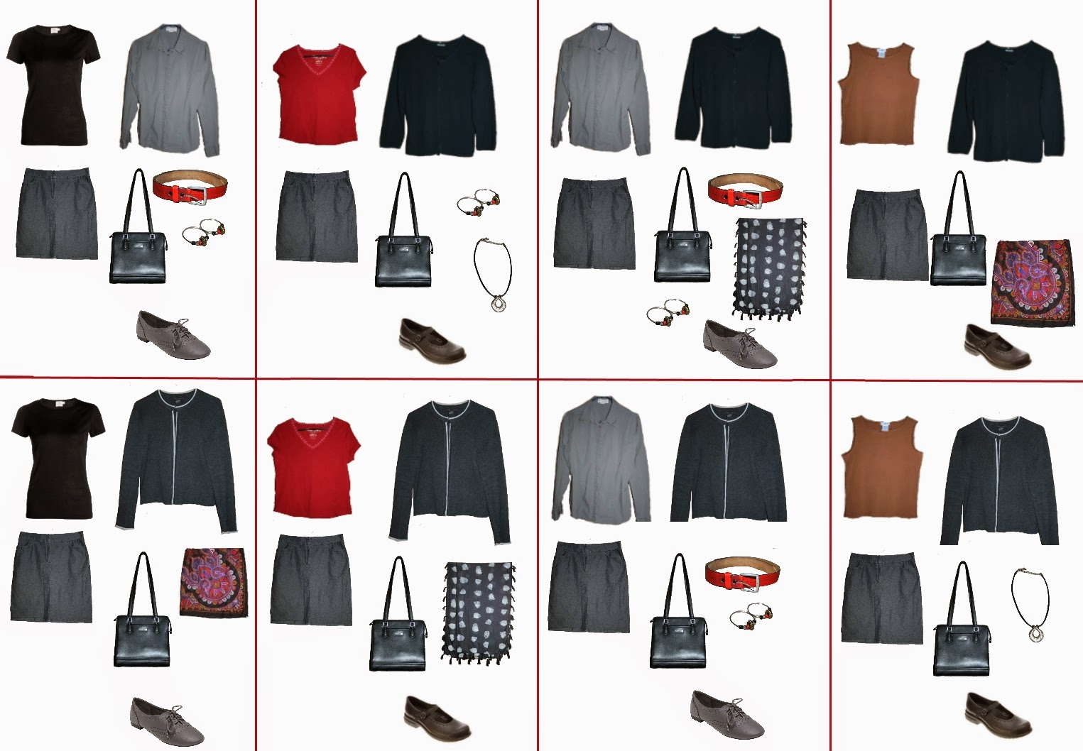 Kind of Capsule Wardrobe