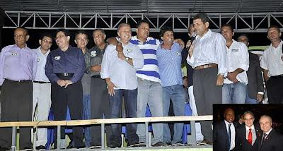 Fernando Jordão em campanha com Pastores Evangélicos