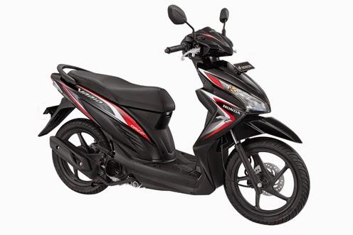 Honda New Vario FI 110 Estilo Black
