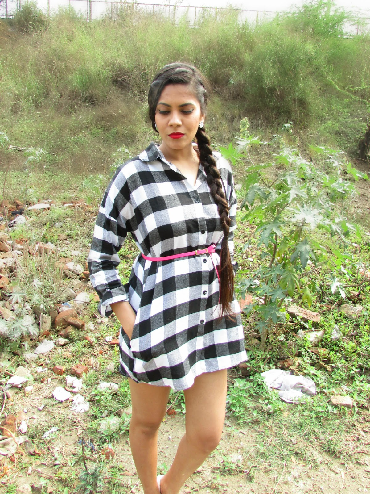 plaid long shirt, how to style plaid shirt, shirt dress, plaid shirt online, banggood review, indian blog, indian fashion blog, rainy day outfit, rainy day makeup, hainy day hairstyle,fashion,Silver, silver shoes, silver heels, sliver sandals, heels, sandals, glitter shoes, shoe cleavage , foot cleavage , Cinderella, Cinderella shoes, Cinderella heels, Cinderella silver shoes, summer footwear, summer sandals, summer heels, summer trends , white dress, summer dress, floral dress, red lips, boho hairstyle, boho hair bun, boho bun, hair bun, braids, Statement necklace, necklace, statement necklaces, big necklace, heavy necklaces , gold necklace, silver necklace, silver statement necklace, gold statement necklace, studded statement necklace , studded necklace, stone studded necklace, stone necklace, stove studded statement necklace, stone statement necklace, stone studded gold statement necklace, stone studded silver statement necklace, black stone necklace, black stone studded statement necklace, black stone necklace, black stone statement necklace, neon statement necklace, neon stone statement necklace, black and silver necklace, black and gold necklace, blank and silver statement necklace, black and gold statement necklace, silver jewellery, gold jewellery, stove jewellery, stone studded jewellery, imitation jewellery, artificial jewellery, junk jewellery, cheap jewellery ,banggood Statement necklace, banggood necklace, banggood statement necklaces,banggood big necklace, banggood heavy necklaces , banggood gold necklace, banggood silver necklace,  banggood statement necklace,banggood gold statement necklace,banggood studded statement necklace , banggood studded necklace, banggood stone studded necklace, banggood stone necklace, banggood stove studded statement necklace, banggood stone statement necklace, banggood stone studded gold statement necklace, banggood stone studded silver statement necklace, banggood black stone necklace, banggood black stone studded statement necklace, banggood black stone necklace, banggood black stone statement necklace, banggood neon statement necklace, banggood neon stone statement necklace, banggood black and silver necklace, banggood black and gold necklace, banggood black  and silver statement necklace, banggood black and gold statement necklace, silver jewellery, banggood gold jewellery, banggood stove jewellery, banggood stone studded jewellery, banggood imitation jewellery, banggood artificial jewellery, banggood junk jewellery, blackfive cheap jewellery ,Cheap Statement necklace, Cheap necklace, Cheap statement necklaces,Cheap big necklace, Cheap heavy necklaces , Cheap gold necklace, Cheap silver necklace, Cheap silver statement necklace,Cheap gold statement necklace, Cheap studded statement necklace , Cheap studded necklace, Cheap stone studded necklace, Cheap stone necklace, Cheap stove studded statement necklace, Cheap stone statement necklace, Cheap stone studded gold statement necklace, Cheap stone studded silver statement necklace, Cheap black stone necklace, Cheap black stone studded statement necklace, Cheap black stone necklace, Cheap black stone statement necklace, Cheap neon statement necklace, Cheap neon stone statement necklace, Cheap black and silver necklace, Cheap black and gold necklace, Cheap black  and silver statement necklace, Cheap black and gold statement necklace, silver jewellery, Cheap gold jewellery, Cheap stove jewellery, Cheap stone studded jewellery, Cheap imitation jewellery, Cheap artificial jewellery, Cheap junk jewellery, Cheap cheap jewellery , Black pullover, black and grey pullover, black and white pullover, back cutout, back cutout pullover, back cutout sweater, back cutout jacket, back cutout top, back cutout tee, back cutout tee shirt, back cutout shirt, back cutout dress, back cutout trend, back cutout summer dress, back cutout spring dress, back cutout winter dress, High low pullover, High low sweater, High low jacket, High low top, High low tee, High low tee shirt, High low shirt, High low dress, High low trend, High low summer dress, High low spring dress, High low winter dress,banggood Black pullover, banggood black and grey pullover, banggood black and white pullover, banggood back cutout, banggood back cutout pullover, banggood back cutout sweater, banggood back cutout jacket, banggood back cutout top, banggood back cutout tee, shopclues back cutout tee shirt, banggood back cutout shirt, banggood back cutout dress, banggood back cutout trend, banggood back cutout summer dress, banggood back cutout spring dress, banggood back cutout winter dress, banggood High low pullover, banggood High low sweater, banggood High low jacket, ocrun High low top, banggood High low tee, ocrun High low tee shirt, banggood High low shirt, banggood High low dress, banggood High low trend, banggood High low summer dress, banggood High low spring dress, banggood High low winter dress, Cropped, cropped tee,cropped tee shirt , cropped shirt, cropped sweater, cropped pullover, cropped cardigan, cropped top, cropped tank top, Cheap Cropped, cheap cropped tee,cheap cropped tee shirt ,cheap  cropped shirt, cheap cropped sweater, cheap cropped pullover, cheap cropped cardigan,cheap  cropped top, cheap cropped tank top,banggood Cropped, banggood cropped tee, banggood cropped tee shirt , banggood cropped shirt, banggood cropped sweater, banggood cropped pullover, banggood cropped cardigan, banggood cropped top, banggood cropped  top, Winter Cropped, winter cropped tee, winter cropped tee shirt , winter cropped shirt, winter cropped sweater, winter cropped pullover, winter cropped cardigan, winter cropped top, winter cropped tank top,Leggings, winter leggings, warm leggings, winter warm leggings, fall leggings, fall warm leggings, tights, warm tights, winter tights, winter warm tights, fall tights, fall warm tights,banggood leggings, banggood tights, warm warm leggings, banggood warm tights, banggood winter warm tights, banggood fall warm tights, woollen tights , woollen leggings, shopclues woollen tights, banggood woollen leggings, woollen bottoms, banggood woollen bottoms, banggood woollen pants , woollen pants,  Christmas , Christmas leggings, Christmas tights, shopclues Christmas, shopclues Christmas clothes, clothes for Christmas , shopclues Christmas leggings, shopclues Christmas tights, shopclues warm Christmas leggings, shopclues warm Christmas  tights, shopclues snowflake leggings, snowflake leggings, snowflake tights, shopclues rain deer tights, shopclues rain deer leggings, ugly Christmas sweater, Christmas tree, Christmas clothes, Santa clause,Wishlist, clothes wishlist, banggood wishlist, banggood, banggood.net, banggood wishlist, autumn wishlist,banggood ocrun wishlist, banggood.comautumn clothes wishlist, autumn shoes wishlist, autumn bags wishlist, autumn boots wishlist, autumn pullovers wishlist, autumn cardigans wishlist, autymn coats wishlist, banggood clothes wishlist, banggood bags wishlist, banggood bags wishlist, banggood boots wishlist, banggood pullover wishlist, banggood cardigans wishlist, banggood autum clothes wishlist,winter clothes, wibter clothes wishlist, winter wishlist, wibter pullover wishlist, winter bags wishlist, winter boots wishlist, winter cardigans wishlist, winter leggings wishlist, banggood winter clothes, banggood autumn clothes, banggood winter collection, banggood autumn collection,Cheap clothes online,cheap dresses online, cheap jumpsuites online, cheap leggings online, cheap shoes online, cheap wedges online , cheap skirts online, cheap jewellery online, cheap jackets online, cheap jeans online, cheap maxi online, cheap makeup online, cheap cardigans online, cheap accessories online, cheap coats online,cheap brushes online,cheap tops online, chines clothes online, Chinese clothes,Chinese jewellery ,Chinese jewellery online,Chinese heels online,Chinese electronics online,Chinese garments,Chinese garments online,Chinese products,Chinese products online,Chinese accessories online,Chinese inline clothing shop,Chinese online shop,Chinese online shoes shop,Chinese online jewellery shop,Chinese cheap clothes online,Chinese  clothes shop online, korean online shop,korean garments,korean makeup,korean makeup shop,korean makeup online,korean online clothes,korean online shop,korean clothes shop online,korean dresses online,korean dresses online,cheap Chinese clothes,cheap korean clothes,cheap Chinese makeup,cheap korean makeup,cheap korean shopping ,cheap Chinese shopping,cheap Chinese online shopping,cheap korean online shopping,cheap Chinese shopping website,cheap korean shopping website, cheap online shopping,online shopping,how to shop online ,how to shop clothes online,how to shop shoes online,how to shop jewellery online,how to shop mens clothes online, mens shopping online,boys shopping online,boys jewellery online,mens online shopping,mens online shopping website,best Chinese shopping website, Chinese online shopping website for men,best online shopping website for women,best korean online shopping,best korean online shopping website,korean fashion,korean fashion for women,korean fashion for men,korean fashion for girls,korean fashion for boys,best chinese online shopping,best chinese shopping website,best chinese online shopping website,wholesale chinese shopping website,wholesale shopping website,chinese wholesale shopping online,chinese wholesale shopping, chinese online shopping on wholesale prices, clothes on wholesale prices,cholthes on wholesake prices,clothes online on wholesales prices,online shopping, online clothes shopping, online jewelry shopping,how to shop online, how to shop clothes online, how to shop earrings online, how to shop,skirts online, dresses online,jeans online, shorts online, tops online, blouses online,shop tops online, shop blouses online, shop skirts online, shop dresses online, shop botoms online, shop summer dresses online, shop bracelets online, shop earrings online, shop necklace online, shop rings online, shop highy low skirts online, shop sexy dresses onle, men's clothes online, men's shirts online,men's jeans online, mens.s jackets online, mens sweaters online, mens clothes, winter coats online, sweaters online, cardigens online,beauty , fashion,beauty and fashion,beauty blog, fashion blog , indian beauty blog,indian fashion blog, beauty and fashion blog, indian beauty and fashion blog, indian bloggers, indian beauty bloggers, indian fashion bloggers,indian bloggers online, top 10 indian bloggers, top indian bloggers,top 10 fashion bloggers, indian bloggers on blogspot,home remedies, how to,banggood online shopping,banggood online shopping review,banggood.com review,banggood online clothing store,banggood online chinese store,banggood online shopping,banggood site review,banggood.com site review, banggood Chines fashion, banggood , banggood.com, ocrun clothing, banggood dresses, banggood shoes, banggood accessories,banggood men cloths ,banggood makeup, ocrun helth products,banggood Chinese online shopping, banggood Chinese store, banggood online chinese shopping, banggood lchinese shopping online,banggood, banggood dresses, banggood clothes, banggood garments, banggood clothes, banggood skirts, banggood pants, ocrun tops, banggood cardigans, banggood leggings, banggood fashion , banggood clothes fashion, banggood footwear, banggood fashion footwear, banggood jewellery, ocrun fashion jewellery, banggood rings, ocrun necklace, banggood bracelets, banggood earings,Autumn, fashion, banggood, wishlist,Winter,fall, fall abd winter, winter clothes , fall clothes, fall and winter clothes, fall jacket, winter jacket, fall and winter jacket, fall blazer, winter blazer, fall and winter blazer, fall coat , winter coat, falland winter coat, fall coverup, winter coverup, fall and winter coverup, outerwear, coat , jacket, blazer, fall outerwear, winter outerwear, fall and winter outerwear, woolen clothes, wollen coat, woolen blazer, woolen jacket, woolen outerwear, warm outerwear, warm jacket, warm coat, warm blazer, warm sweater, coat , white coat, white blazer, white coat, white woolen blazer, white coverup, white woolens, banggood online shopping review,banggood.com review,banggood online clothing store,banggood online chinese store,banggood online shopping,banggood site review, banggood.com site review, banggood Chines fashion, banggood , banggood.com, banggood clothing, ocrun dresses, banggood shoes, banggood accessories,banggood men cloths ,banggood makeup, ocrun helth products,banggood Chinese online shopping, banggood Chinese store, banggood online chinese shopping, banggood chinese shopping online,banggood, ocrun dresses, banggood clothes, ocrun garments, banggood clothes, blackfive skirts, banggood pants, banggood tops, banggood cardigans, banggood leggings, banggood fashion , banggood clothes fashion, banggood footwear, banggood fashion footwear, banggood jewellery, banggood fashion jewellery, banggood rings, banggood necklace, ocrun bracelets, banggood earings,latest fashion trends online, online shopping, online shopping in india, online shopping in india from america, best online shopping store , best fashion clothing store, best online fashion clothing store, best online jewellery store, best online footwear store, best online store, beat online store for clothes, best online store for footwear, best online store for jewellery, best online store for dresses, worldwide shipping free, free shipping worldwide, online store with free shipping worldwide,best online store with worldwide shipping free,low shipping cost, low shipping cost for shipping to india, low shipping cost for shipping to asia, low shipping cost for shipping to korea,Friendship day , friendship's day, happy friendship's day, friendship day outfit, friendship's day outfit, how to wear floral shorts, floral shorts, styling floral shorts, how to style floral shorts, how to wear shorts, how to style shorts, how to style style denim shorts, how to wear denim shorts,how to wear printed shorts, how to style printed shorts, printed shorts, denim shorts, how to style black shorts, how to wear black shorts, how to wear black shorts with black T-shirts, how to wear black T-shirt, how to style a black T-shirt, how to wear a plain black T-shirt, how to style black T-shirt,how to wear shorts and T-shirt, what to wear with floral shorts, what to wear with black floral shorts,how to wear all black outfit, what to wear on friendship day, what to wear on a date, what to wear on a lunch date, what to wear on lunch, what to wear to a friends house, what to wear on a friends get together, what to wear on friends coffee date , what to wear for coffee,beauty,Pink, pink pullover, pink sweater, pink jumpsuit, pink sweatshirt, neon pink, neon pink sweater, neon pink pullover, neon pink jumpsuit , neon pink cardigan, cardigan , pink cardigan, sweater, jumper, jumpsuit, pink jumper, neon pink jumper, pink jacket, neon pink jacket, winter clothes, oversized coat, oversized winter clothes, oversized pink coat, oversized coat, oversized jacket, banggood pink, banggood pink sweater, banggood pink jacket, banggood pink cardigan, banggood pink coat, banggood pink jumper, banggood neon pink, banggood neon pink jacket, banggood neon pink coat, banggood neon pink sweater, banggood neon pink jumper, banggood neon pink pullover, pink pullover, neon pink pullover,fur,furcoat,furjacket,furblazer,fur pullover,fur cardigan,front open fur coat,front open fur jacket,front open fur blazer,front open fur pullover,front open fur cardigan,real fur, real fur coat,real fur jacket,real fur blazer,real fur pullover,real fur cardigan, soft fur,soft fur coat,soft fur jacket,soft furblazer,soft fur pullover,sof fur cardigan, white fur,white fur coat,white fur jacket,white fur blazer, white fur pullover, white fur cardigan,trench, trench coat, trench coat online, trench coat india, trench coat online India, trench cost price, trench coat price online, trench coat online price, cheap trench coat, cheap trench coat online, cheap trench coat india, cheap trench coat online India, cheap trench coat , Chinese trench coat, Chinese coat, cheap Chinese trench coat, Korean coat, Korean trench coat, British coat, British trench coat, British trench coat online, British trench coat online, New York trench coat, New York trench coat online, cheap new your trench coat, American trench coat, American trench coat online, cheap American trench coat, low price trench coat, low price trench coat online , low price trench coat online india, low price trench coat india, banggood trench, banggood trench coat, banggood trench coat online, banggood trench coat india, banggood trench coat online India, banggood trench cost price,banggood trench coat price online, banggood trench coat online price, banggood cheap trench coat,  banggood trench coat online, banggood cheap trench coat india, banggood cheap trench coat online India, banggood cheap trench coat , banggood Chinese trench coat, ocrun Chinese coat, banggood cheap Chinese trench coat, banggood Korean coat, ocrun Korean trench coat, banggood British coat, banggood British trench coat, banggood British trench coat online, banggood British trench coat online, banggood New York trench coat, banggood New York trench coat online, banggood cheap new your trench coat, banggood American trench coat, banggood American trench coat online, banggood cheap American trench coat, banggood low price trench coat, banggood low price trench coat online , banggood low price trench coat online india, banggood low price trench coat india, how to wear trench coat, how to wear trench, how to style trench coat, how to style coats, how to style long coats, how to style winter coats, how to style winter trench coats, how to style winter long coats, how to style warm coats, how to style beige coat, how to style beige long coat, how to style beige trench coat, how to style beige coat, beige coat, beige long coat, beige long coat, beige frock coat, beige double breasted coat, double breasted coat, how to style frock coat, how to style double breasted coat, how to wear beige trench coat,how to wear beige coat, how to wear beige long coat, how to wear beige frock coat, how to wear beige double button coat, how to wear beige double breat coat, double button coat, what us trench coat, uses of trench coat, what is frock coat, uses of frock coat, what is long coat, uses of long coat, what is double breat coat, uses of double breasted coat, what is bouton up coat, uses of button up coat, what is double button coat, uses of double button coat, velvet leggings, velvet tights, velvet bottoms, embroided velvet leggings, embroided velvet tights, pattern tights, velvet pattern tights, floral tights , floral velvet tights, velvet floral tights, embroided  velvet leggings, pattern leggings , velvet pattern leggings , floral leggings , floral velvet leggings, velvet floral leggings ,eyeboxs velvet leggings, banggood velvet tights, banggood velvet bottoms,banggood embroided velvet leggings,banggood embroided velvet tights, banggood pattern tights, banggood velvet pattern tights, banggood floral tights , banggood floral velvet tights, banggood velvet floral tights, banggood embroided  velvet leggings, banggood pattern leggings , banggood velvet pattern leggings , banggood floral leggings ,banggood floral velvet leggings, banggood velvet floral leggings ,banggood studded heels, studded heels , stud heels, valentinos , valentino heels, valentine shoes, valentino studded shoes, valentino studded heels, valentino studded sandels, black valentino, valentino footwear ,shoe sale , valentino look alikes, cartoon tee , cartoon , cartoon print , cartoon pattern , cartoon shirt , cartoon top , cartoon print top , cartoon print shirt, cartoon paint shorts , cartoon print tee