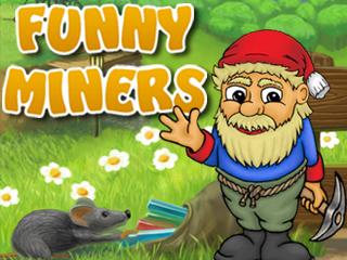 لعبة جمع الذهب Funny Miners