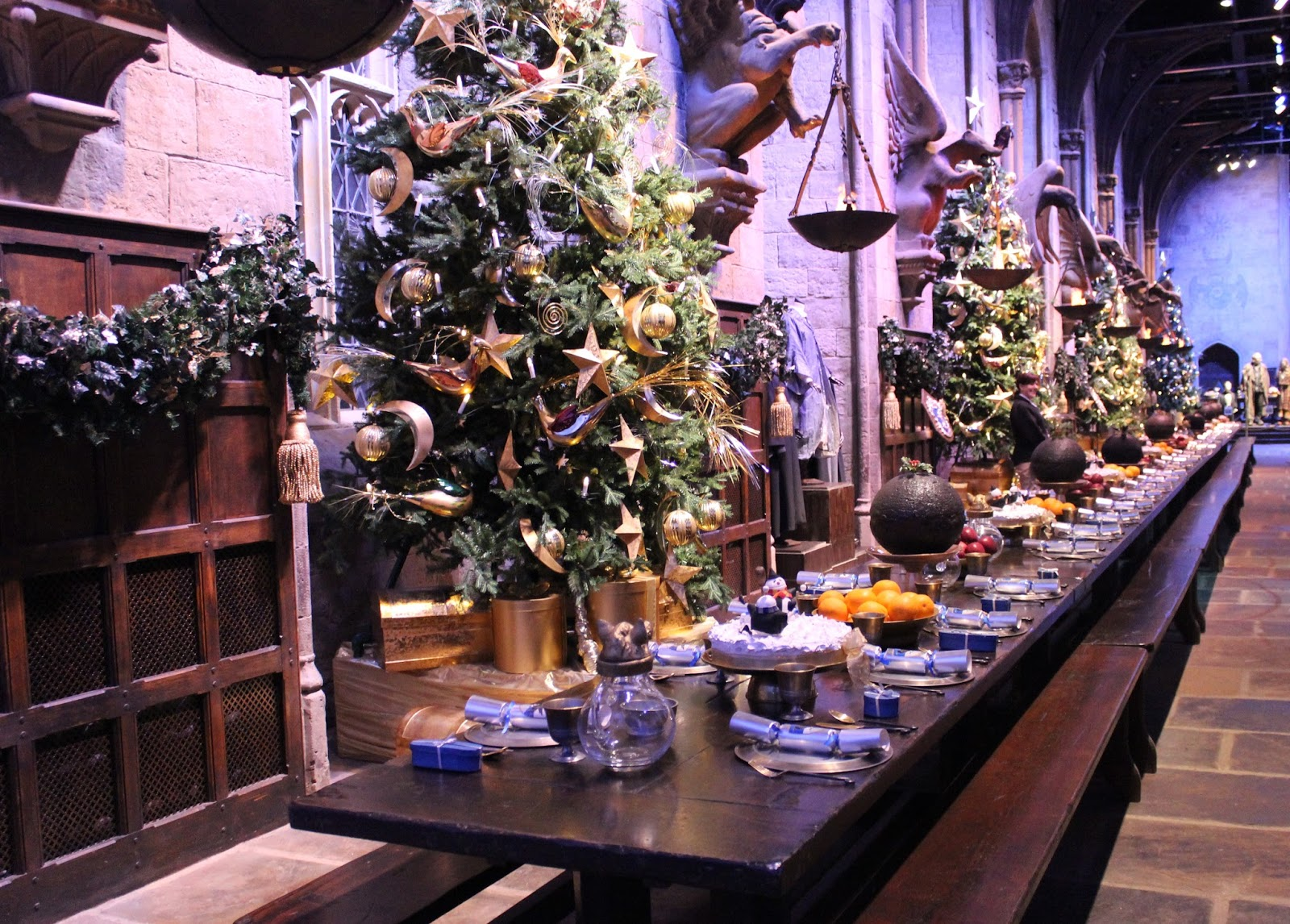 Harry Potter studio tour london great hall food