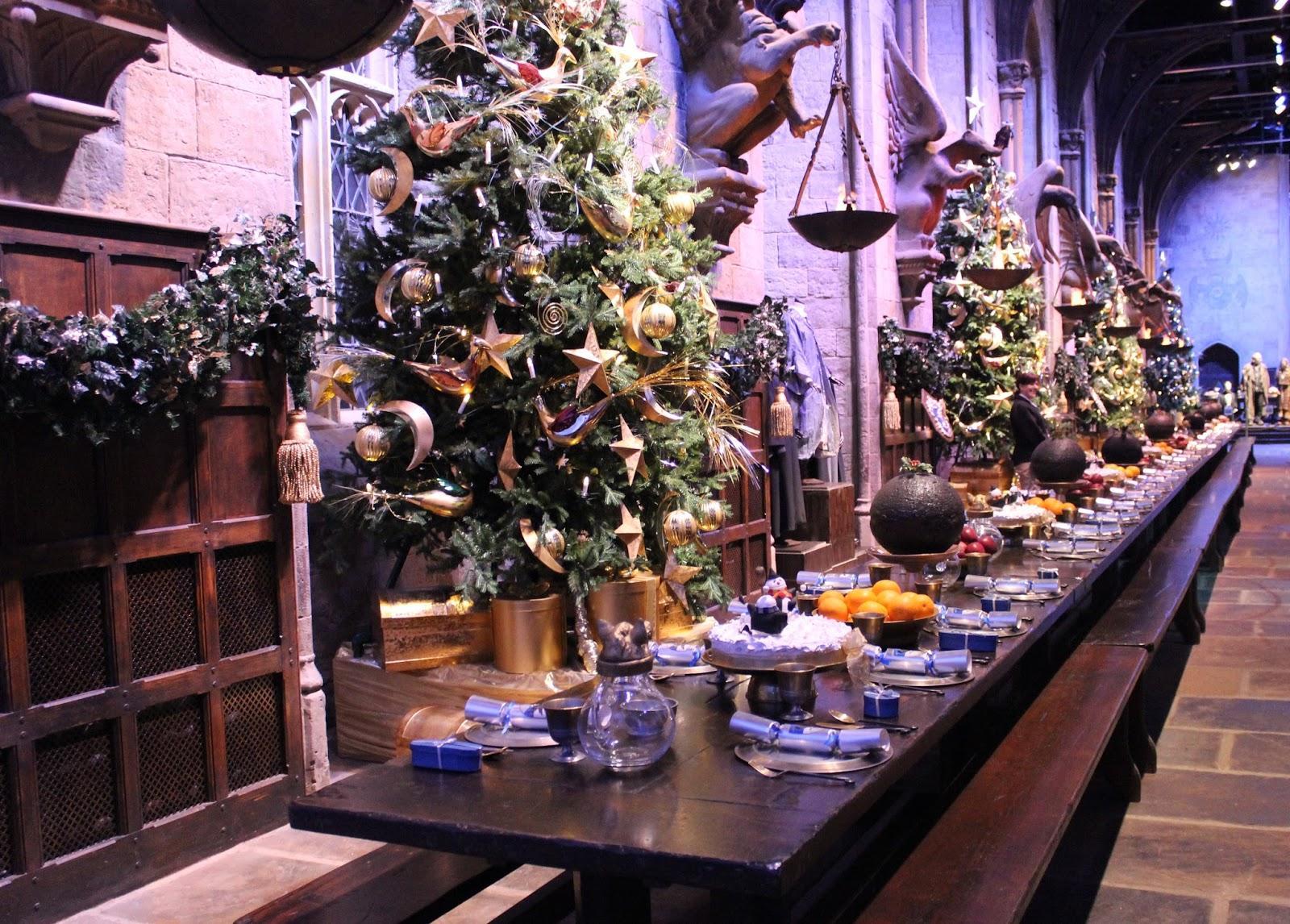 Harry Potter studio tour london great hall food
