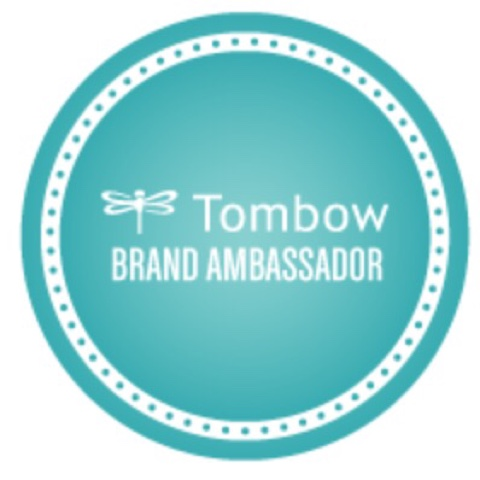i am a Tombow Brand Ambassador