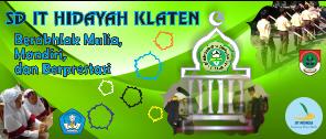 SDIT Hidayah Klaten