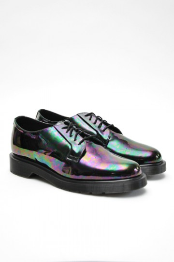 pizza-kei cute pizza kei cute oil slick rainbow bubble fashion look alternative fashion alt-fashion dr. dr doc martens lex shoes