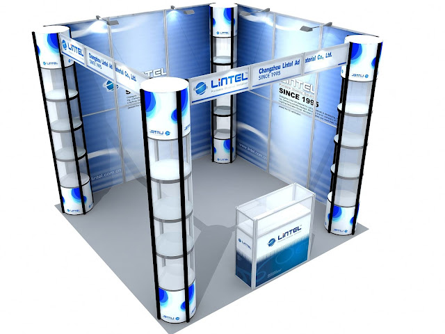 Exhibition Stand Materials : Booth zombie pic สิงหาคม