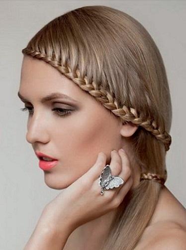 Mujer Estilo Y Belleza Peinados Con Trenza 2016
