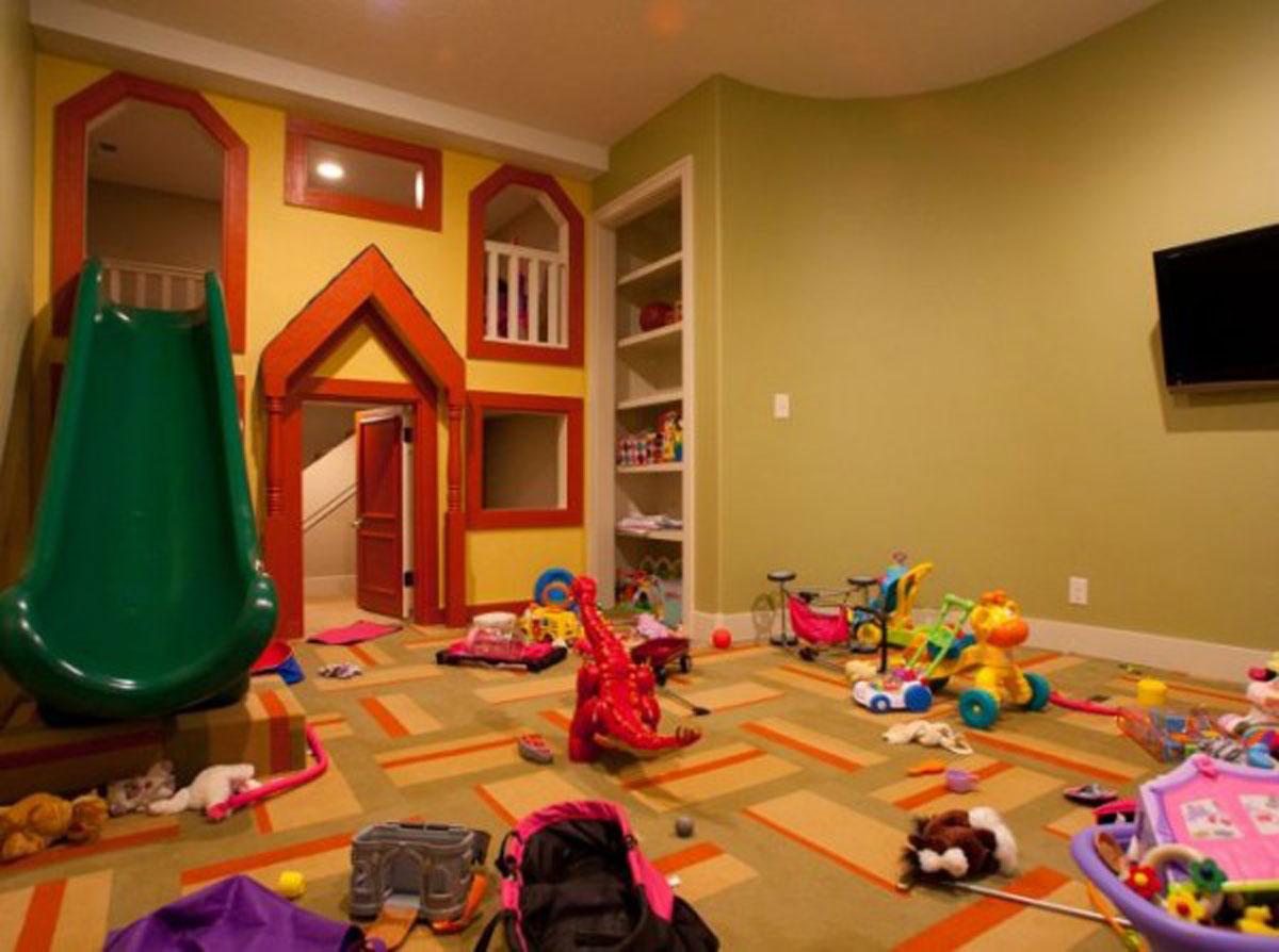 Игровая комната дома
