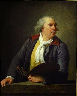 Hubert Robert by Louise Élisabeth Vigée Le Brun, 1788