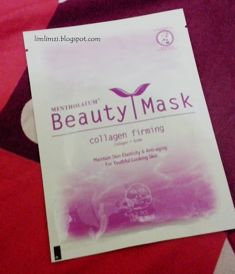 [REVIEW] Beauty Mask Collagen Firming
