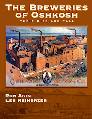 The Breweries of Oshkosh. Click the Cover to Buy it Online!