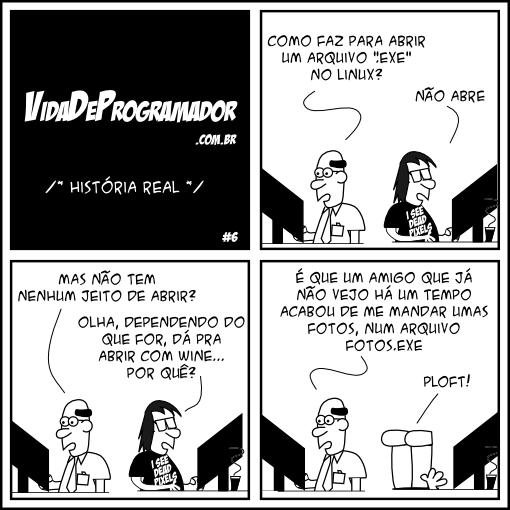 executando exe em linux