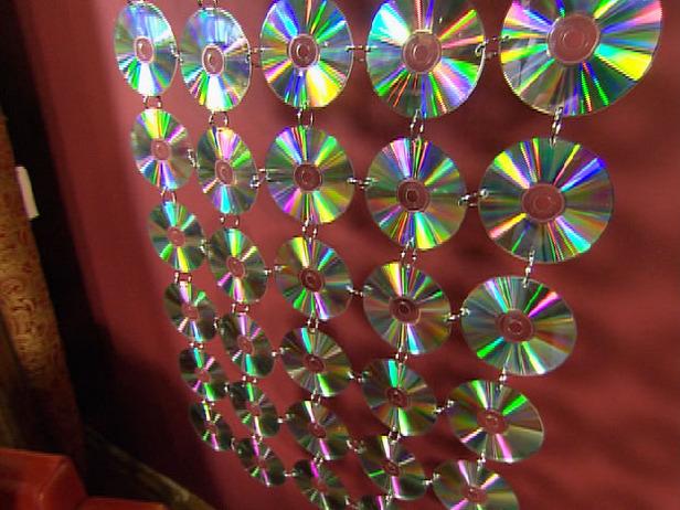 10 Ide Kreatif Cara Memanfaatkan CD dan DVD bekas - Bikin