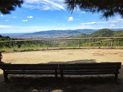 View from Turó de en Corts in Collserola